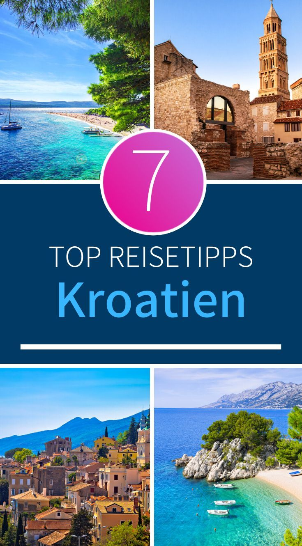Kroatien Tipps Ein Traumurlaub An Der Beliebten Adria Reiseuhu De In 2020 Kroatien Reisen Kroatien Urlaub Reisen