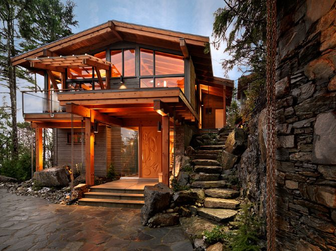 209 best houses of wood light images on pinterest for Wooden nickel cabins
