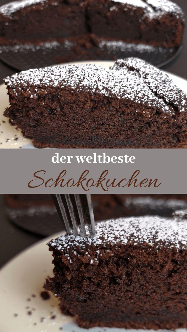 Der saftigste Schokoladenkuchen aller Zeiten – mein Lieblingsrezept – kleinliebchen   – backen