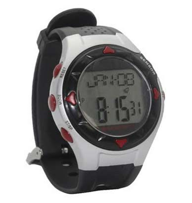 Wrist Watch Heart Rate Calorie Stopwatch Sports