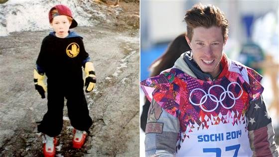 Then and now: Here's what your favorite Olympians looked like when they were younger