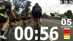 trainer workout cycling video 60 minutos - YouTube