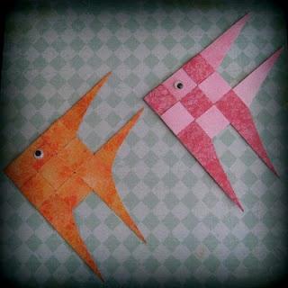 Cindy deRosier: My Creative Life: Paper Scrap Fish