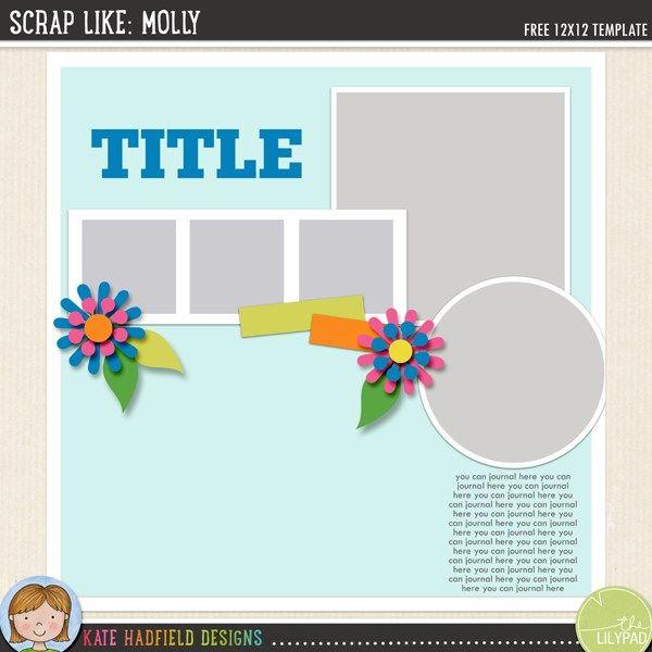 502 best scrapbook templates images on Pinterest Template, Life s