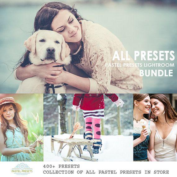 Lightroom Presets 400 van PastelPresets op Etsy