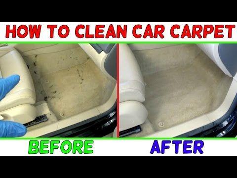 Clean Car Carpet Mechanic Lifestyle Auto Detailing