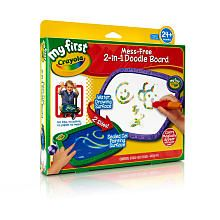 Crayola My First Mess-Free 2-in-1 Doodle Board