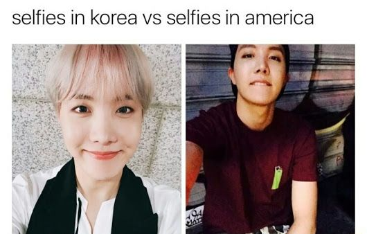 Hobiiiii, sorry, I can't think of what to say when he's involved. I don't like the idea of selfies, but I can appreciate jhope sharing with us :)