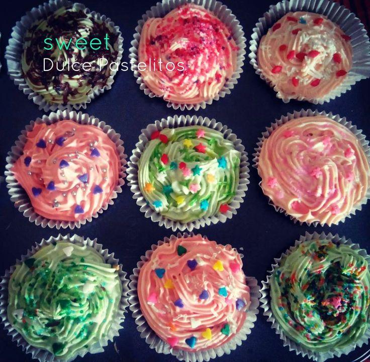 cupcakes, diferentes sabores