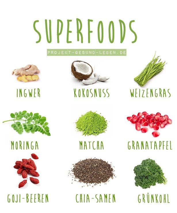 Superfoods | Projekt: Gesund leben | Blog über Ernährung, Bewegung und Entspannung