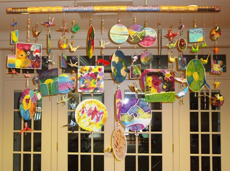 Classroom Mobiles Ideas : Best images about mobiles on pinterest pipe cleaners