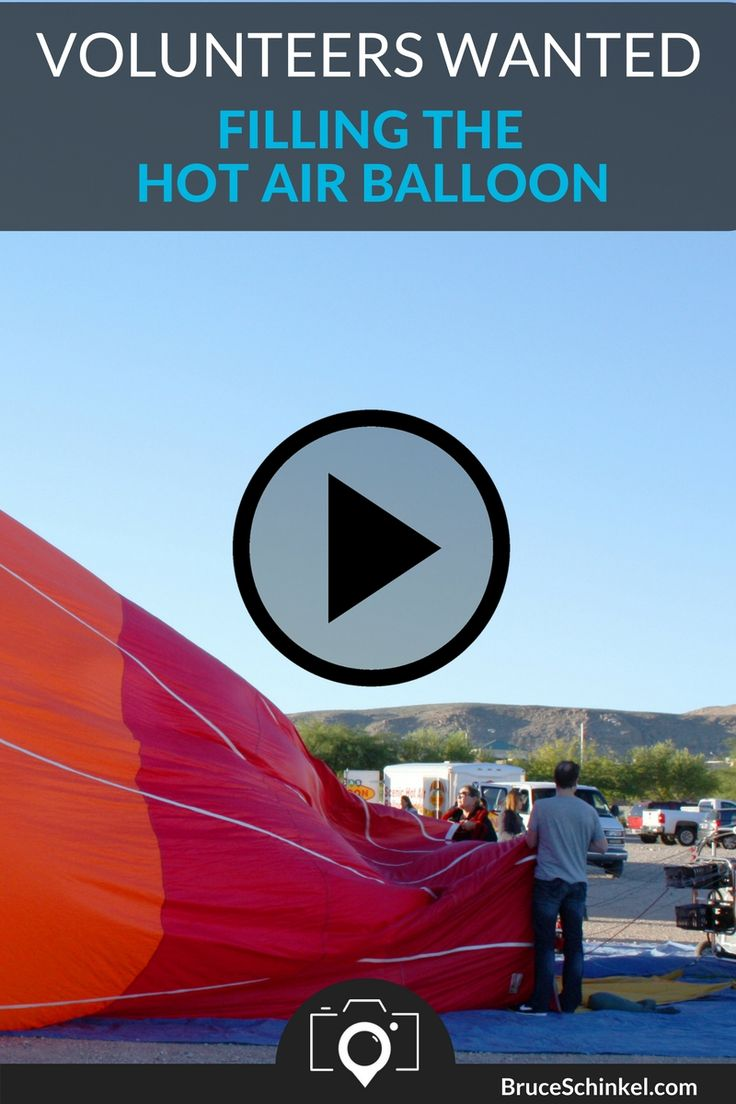 Before we can takeoff we need to fill the balloon with air. I got to be one of the lucky volunteers to help!