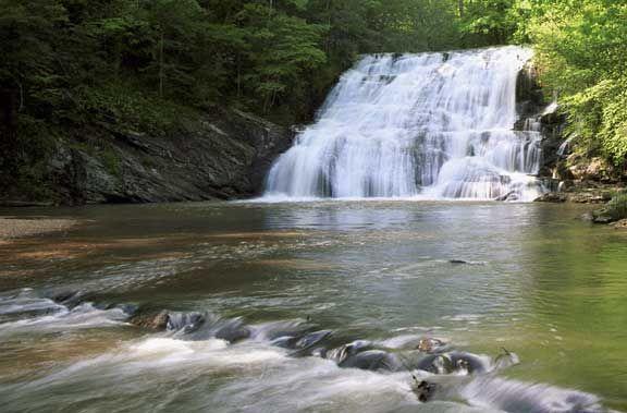 dick creek falls lumpkin county ga