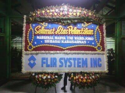 Bunga papan untuk ucapan selamat atas pelantikan Pejabat Walikota Jakarta Selatan baru, Bapak Syamsudin Noor, tersedia untuk anda dalam bent...