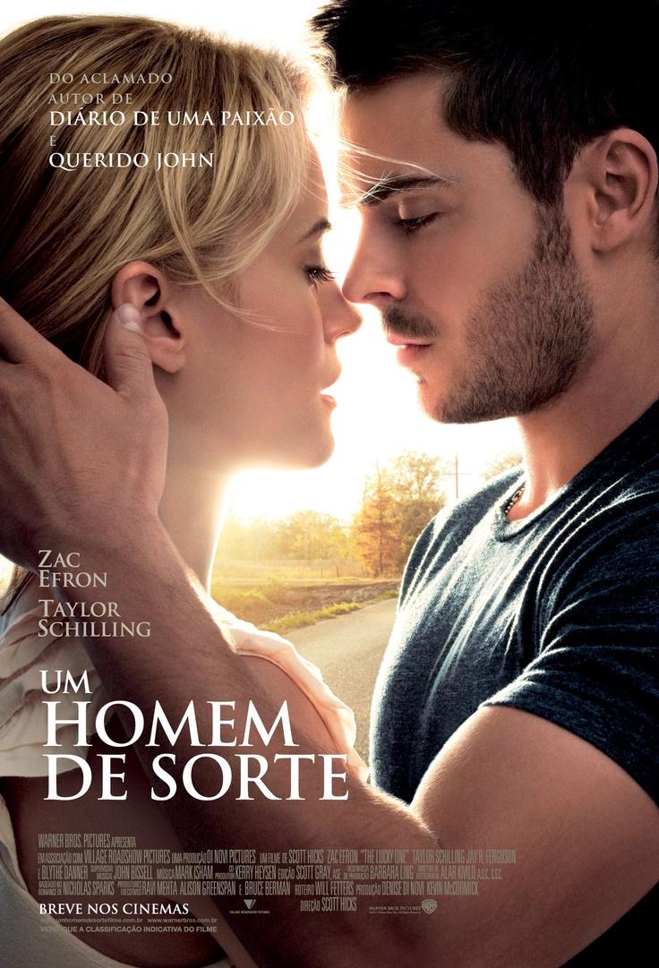 Um Homem de Sorte | País: EUA | Gênero: Romance | Lançamento Nacional: 04/05/2012 | Distribuidor: Warner Bros.