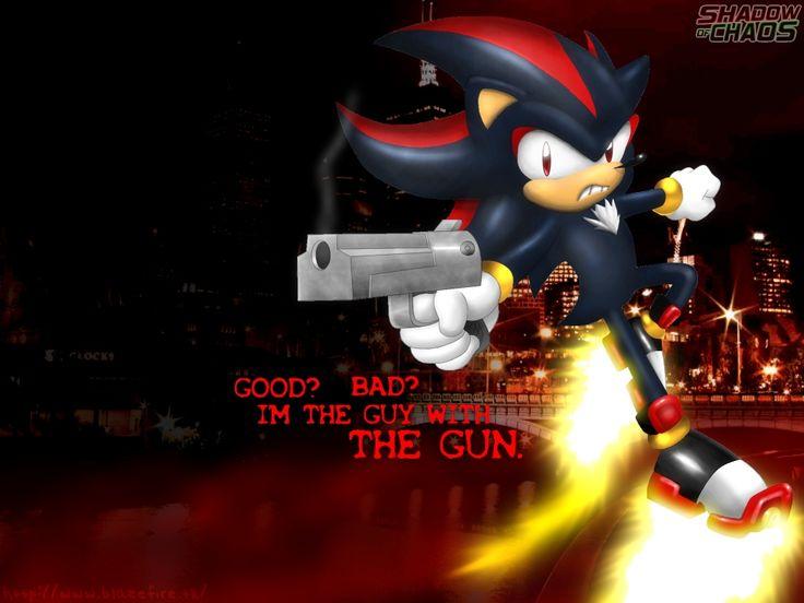 Shadow the Hedgehog GUN | Shadow of Chaos Wallpaper by anotherblazehedgehog on deviantART