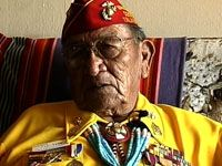 Dan Akee, Navajo Code Talker, is featured in a Veterans History Project interview. Dan Akee Collection (AFC/2001/001/52555), Veterans History Project, American Folklife Center, Library of Congress.