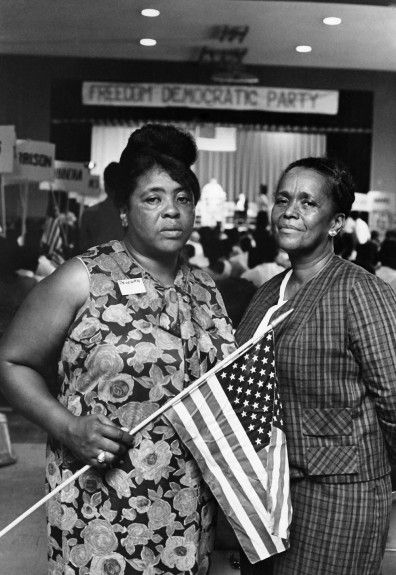Fannie Lou Hamer and Ella Baker