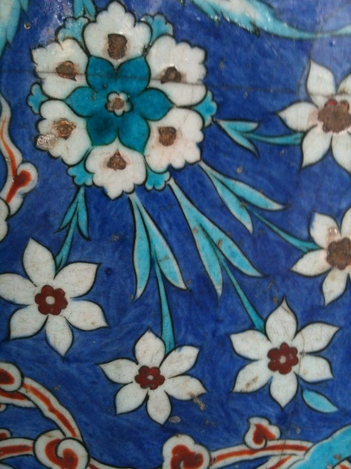 Iznik tile - Istanbul, Turkey   Art of Islamic Pattern