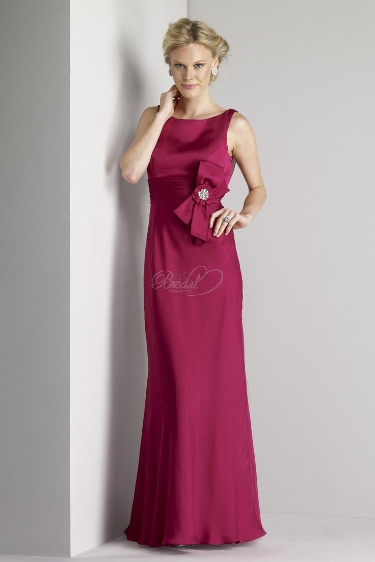 165 best wedding bridesmaid dresses images on pinterest liz fields bridesmaids 425 scoop neckline gown with pleated waistband and embellished bow detail also available in liz fields chiffon as style 125 ombrellifo Gallery