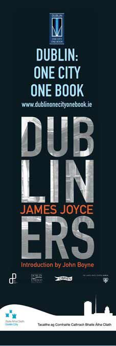 Dublin City Council Banners for One City, One Book 2012 -- 'Dubliners', James Joyce #civicmedia2012