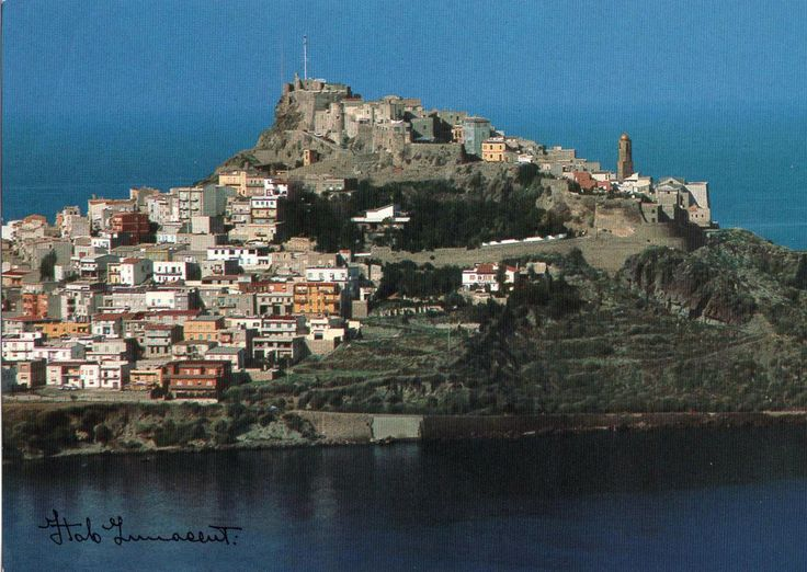 Castelsardo Rocca Cartolina non viaggiata