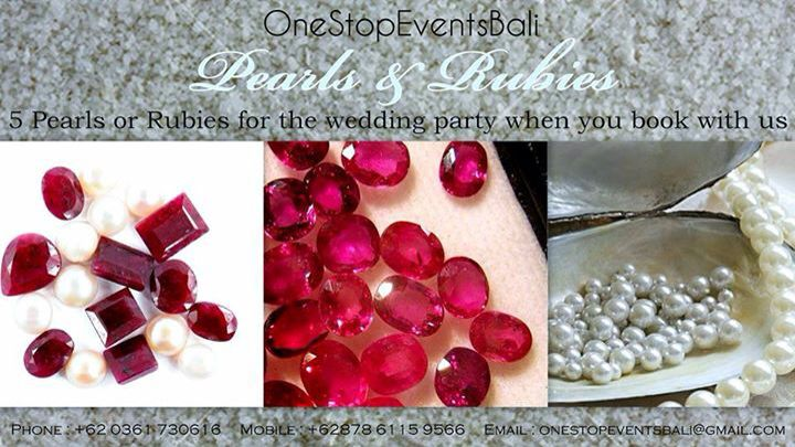 Our Hot Deal , we can make your wedding rings too. Bali Weddings .
