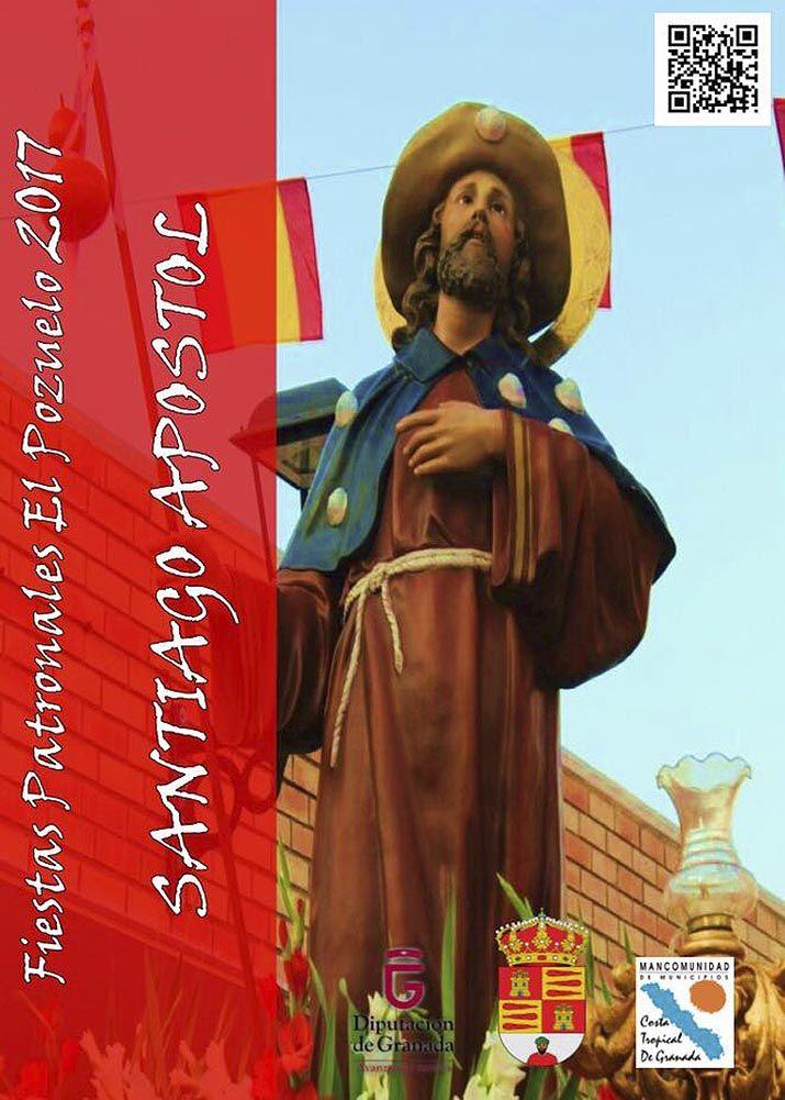 Fiestas de Santiago Apostol en El Pozuelo (Albuñol) #Alpujarra #Granada