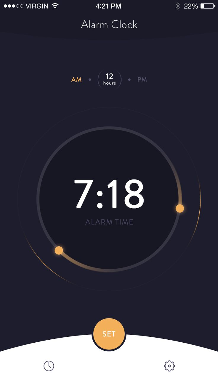 Alarm Clock – iOSUp