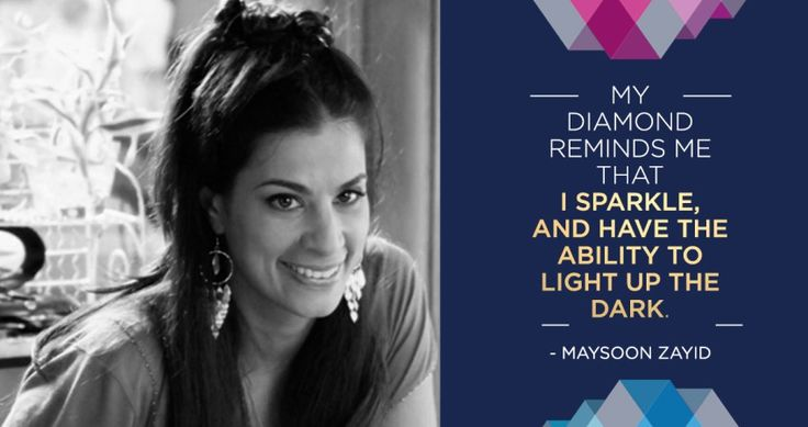 Diamonds Unleashed Ambassador & Comedienne, Maysoon Zayid