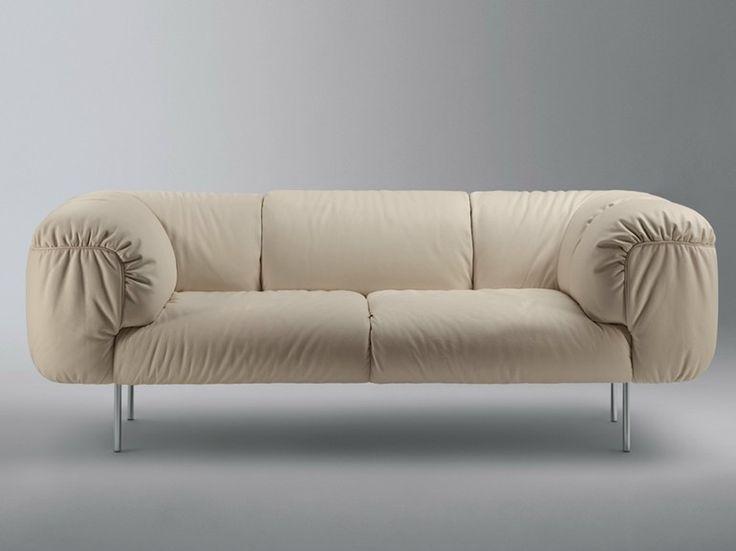 BEBOP Divano a 2 posti by Poltrona Frau design Cini Boeri