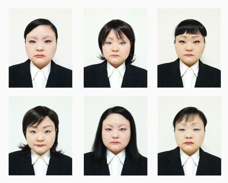 Change in hair and expression Tomoko Sawada