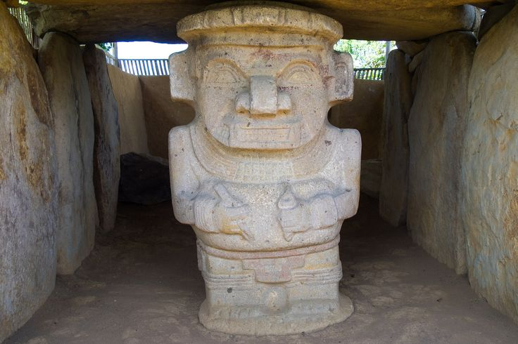 https://flic.kr/p/sMQZJq | Alto de los Idolos -  Alto de las Piedras - Colombia | San Agustin, Colombia    Archaeological Park , 'Alto de los Idolos'  and  'Alto de las Piedras'  San Agustín - Archaeological Park The largest group of religious monuments and megalithic sculptures in South America stands in a wild, spectacular landscape. Gods and mythical animals are skilfully represented in styles ranging from abstract to realist. These works of art display the creativity and imagination of a…