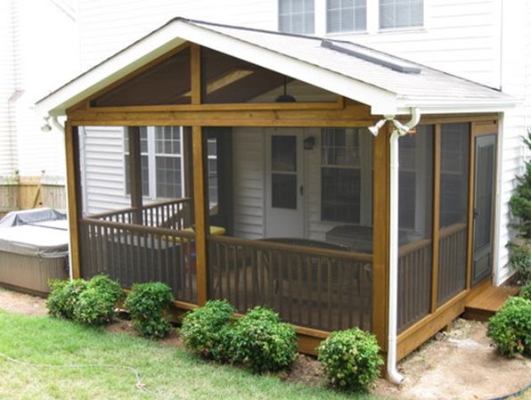 screened in porch ideas | Northern Virginia Screen Porch, Sunroom & Deck Builders