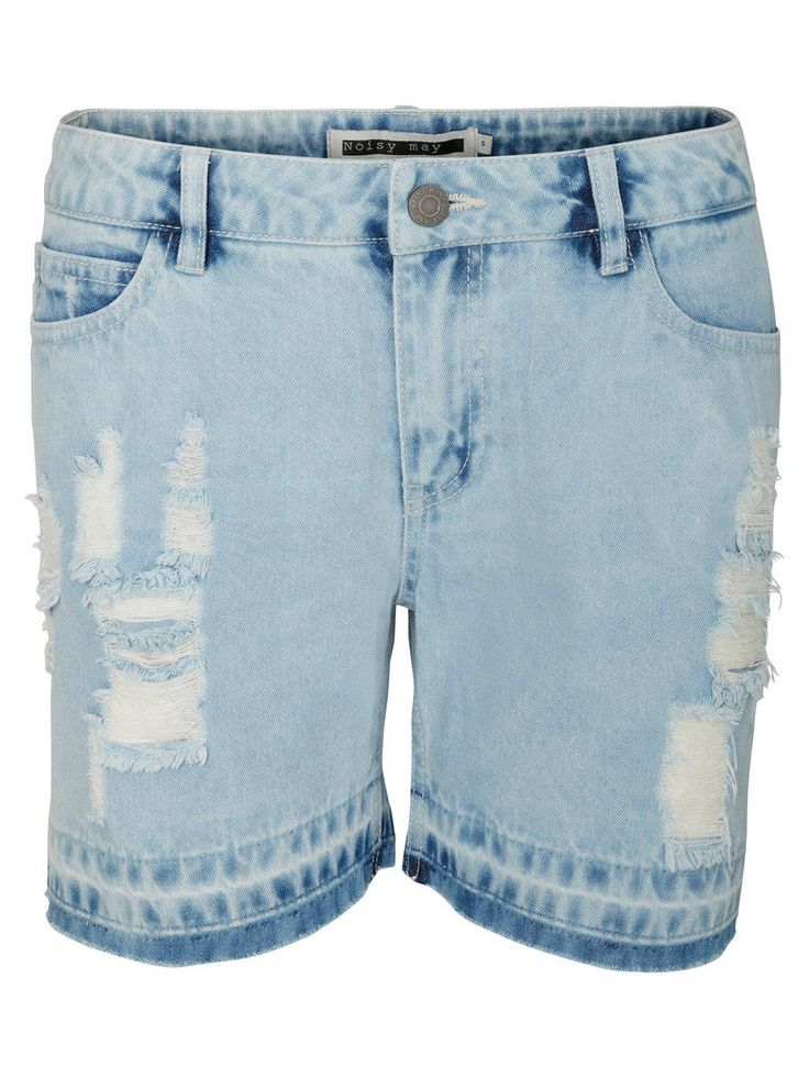 Keep it chill with these loose fit denim shorts for summer.
