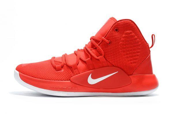 2018 Nike Hyperdunk X University RedWhite Men's Basketball