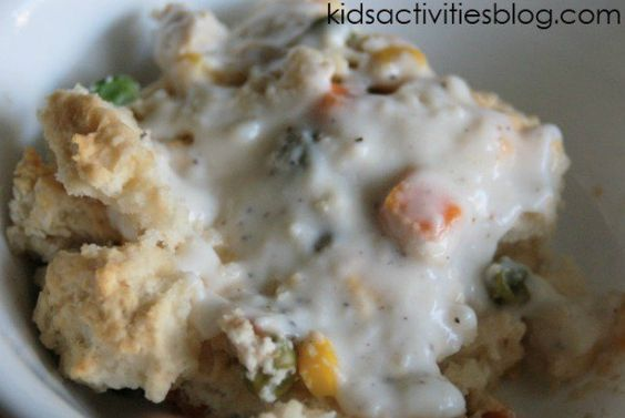 We have the answer to what is for dinner?! I love this easy casserole.  It is so versatile.  You can make it with almost anything.  This is a great way to use your leftovers.  This recipe is adapted from the CDKitchen. What is for dinner? Ingredients: 1 cup milk 1 cup water 1-2 Tablespoons of …