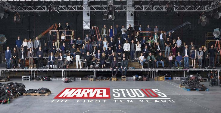 See Behind the Scenes of the Iconic Marvel Cinematic Universe 10-Year Anniversary Class Photo
