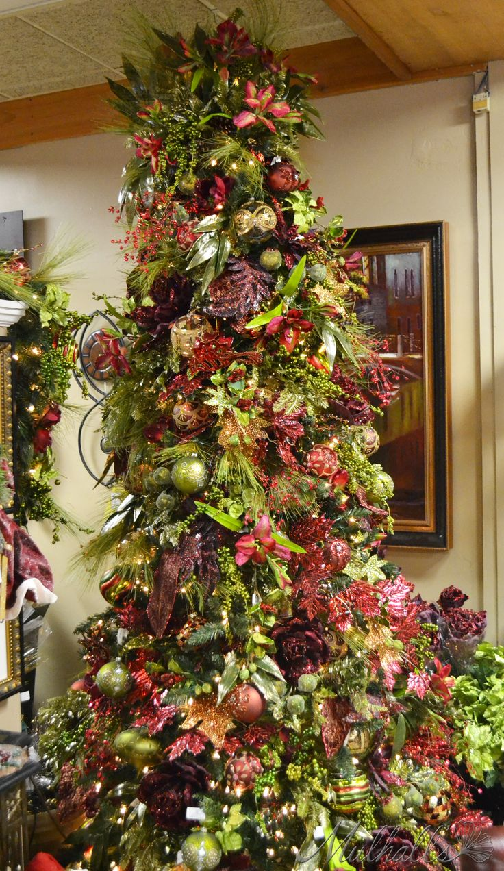 Elegant Christmas Tree Decorating 2950 Best Christmastrees Images On Pinterest Xmas Trees