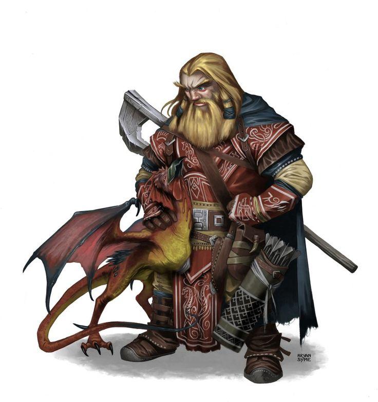 m Dwarf Druid underdark mountain forest Capatrice Animal buddy by BryanSyme on DeviantArt