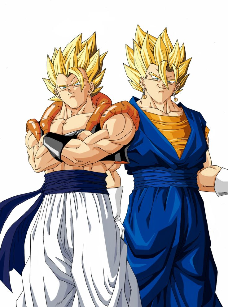 dbz drawings | Dragon Ball Z Gogeta and Vegito