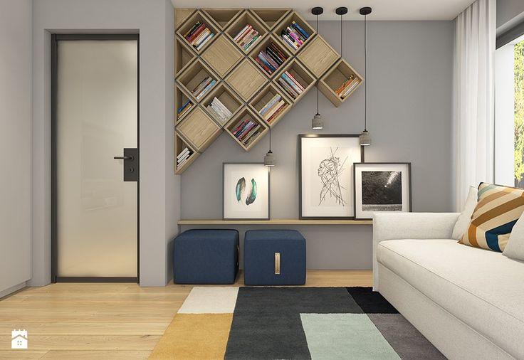 Dom pod Krakowem - przestrzeń zupełna - Średnia sypialnia dla gości - zdjęcie od WERDHOME