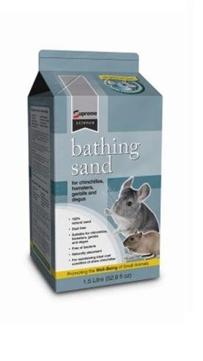 The Only Dust-Free Bathing Material for Pet Chinchilla's. All Natural: 100% volcanic mountain pumice.The totally natural earth mineral as found in the Andes Mountains.
