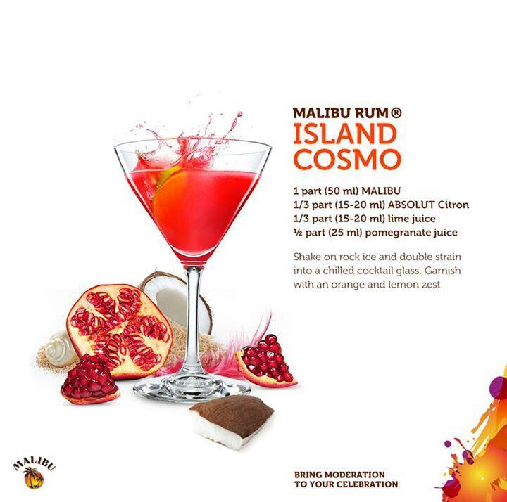 Malibu Rum Island Cosmo