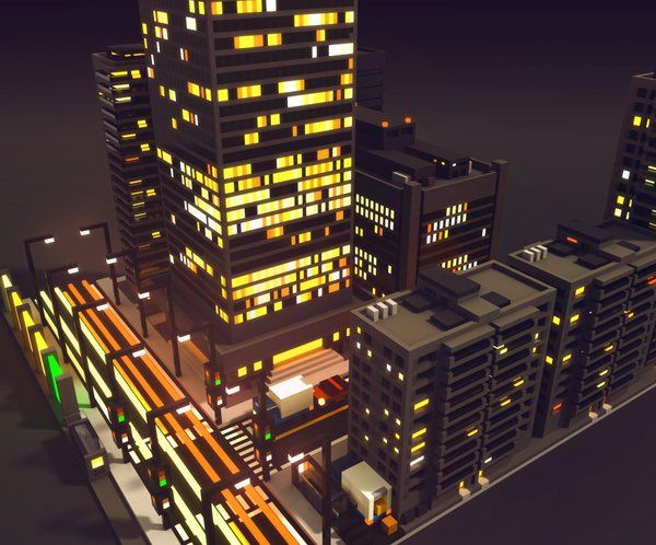 1 magicavoxel voxel pinterest for Design hotel quartier 65