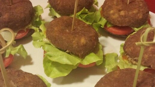 #vegetarian #hamburger