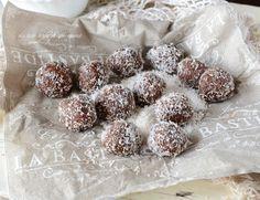 Bon bon cocco e nutella dolcetti freddi veloci,semplici e golosi