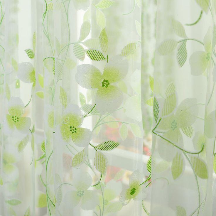 5 Colors шарф чистой вуаль дверные гардины пелерина панель балдахин шторы купить на AliExpress