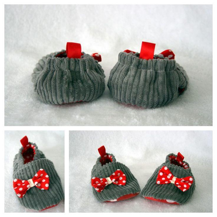 chaussons en velours d'après le livre de Sweet anything http://sweetanything-creations.blogspot.de/