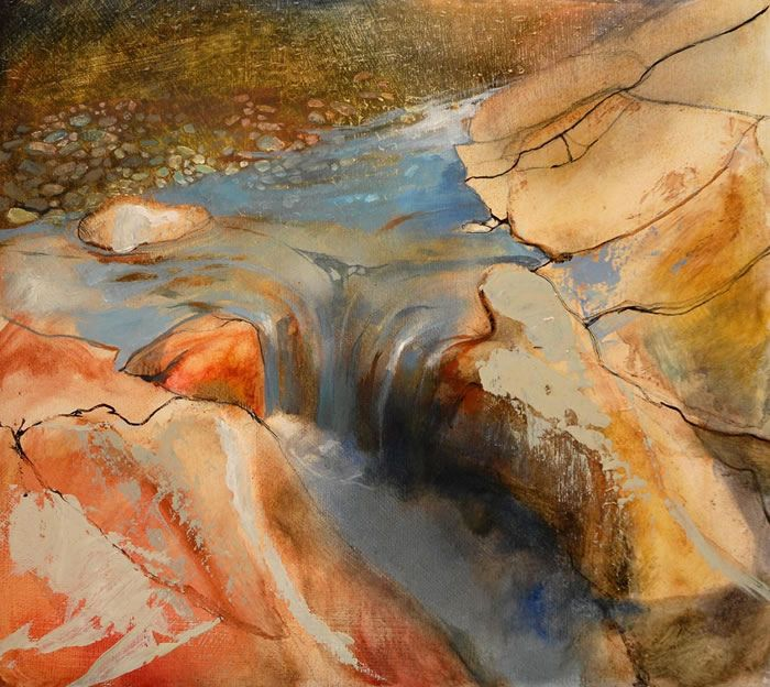 Fairy Water by Beth Robertson Fiddes, Scottish Landscape painter